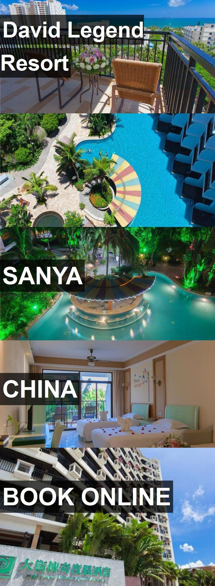 Hotel David Legend Resort in Sanya, China. For more information, photos, reviews and best prices please follow the link. #China #Sanya #travel #vacation #hotel