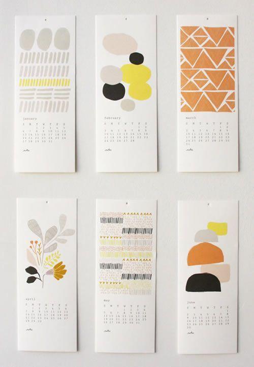 2013 Unique Calendar Designs