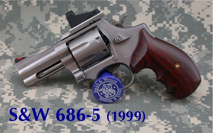 686 inch smith mount sight allchin defense carry concealed magnum wesson dot revolver concealment barrel self revolvers sights difference wessonforum