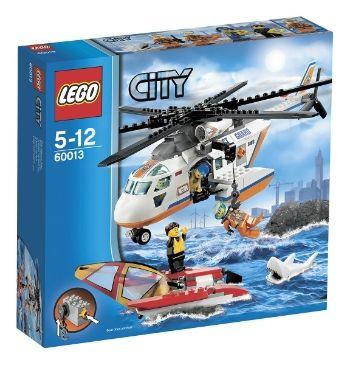 LEGO CITY Rannikkovartioston Helikopteri 60013