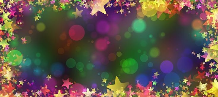 Star, Christmas, Background