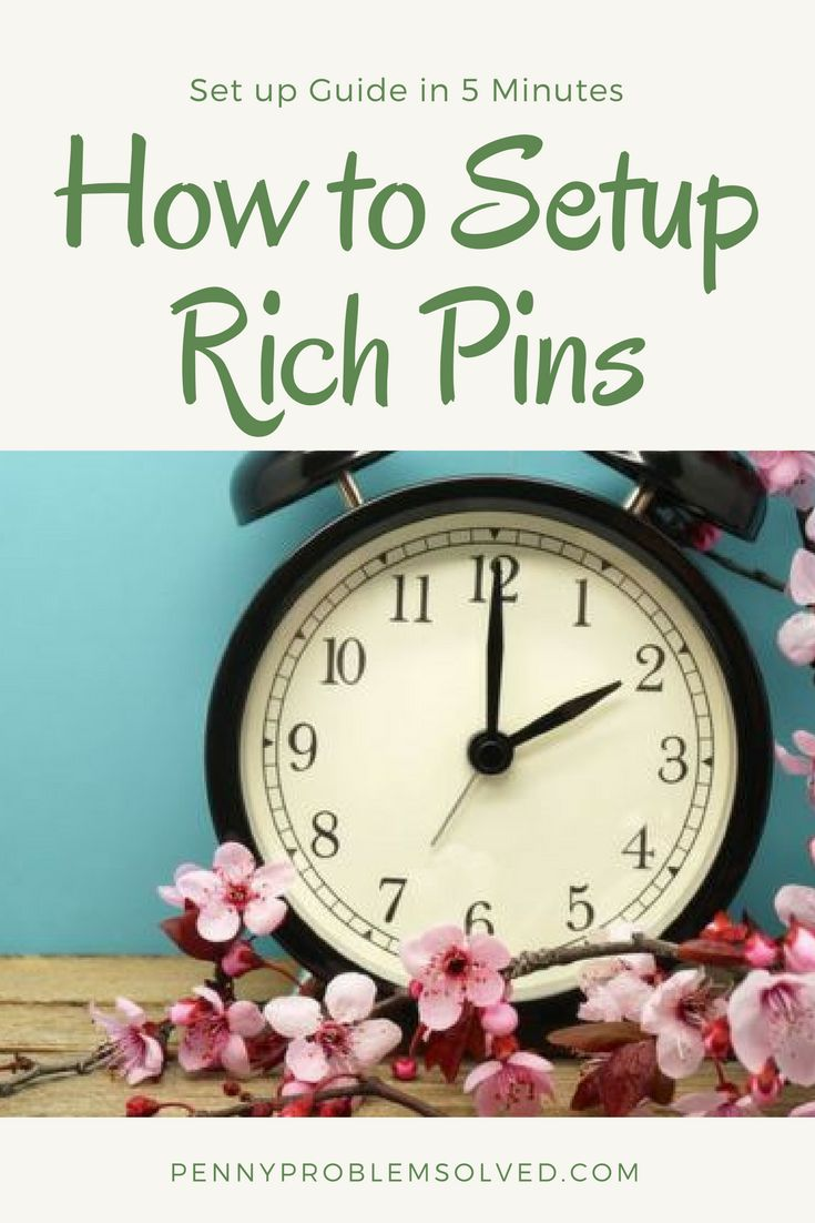 How to Setup Rich Pins in 5 MINUTES or Less!