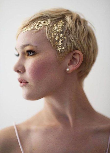 Pixie Hair Hochzeitsshort   – Short hair
