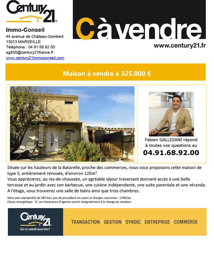 701 best Century21 Immo Conseil à Marseille Chateau Gombert images