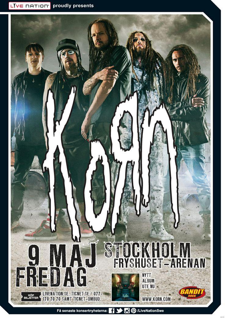 KORN | 9 maj | 2014 |Stockholm | Sweden| Arenan - Fryshuset |
