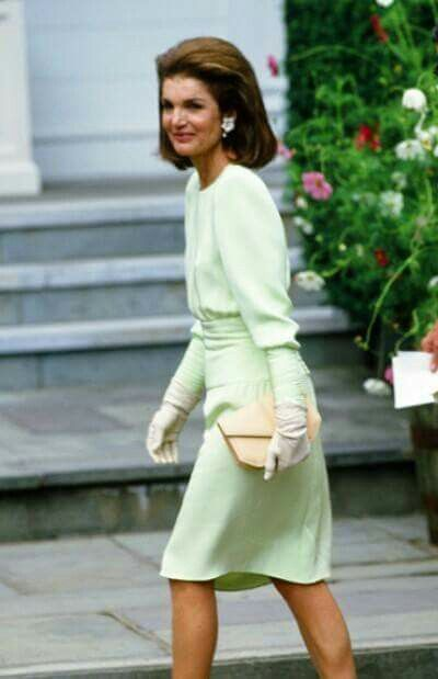 Jackie - not exactly royal but how elegant