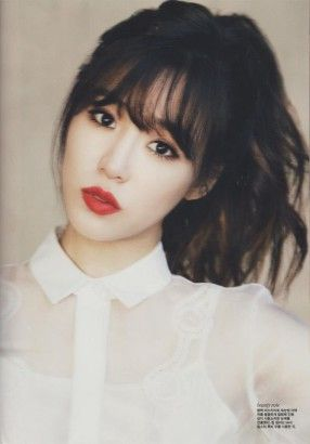 Seen on countless Korean female celebrities, this hair trend is one of the most popular amongst Asian ladies.