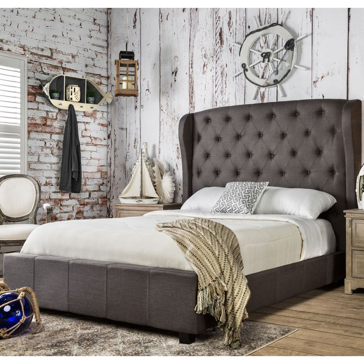 furniture setting bedroom. furniture of america draviosa padded flax wingback platform bed overstock shopping great deals on beds setting bedroom b