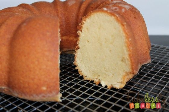 Cream Cheese Pound Cake Recipe 2