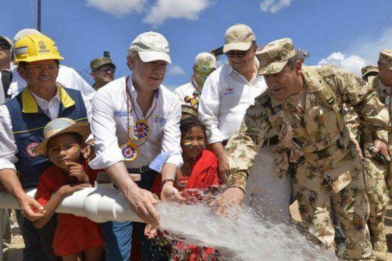 A llevar agua potable a las zonas de posconflicto