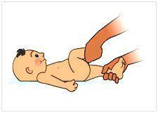 massage bébé anti coliques