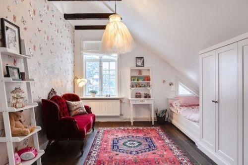 zimmer ideen für mädchen schlafzimmer dachzimmer