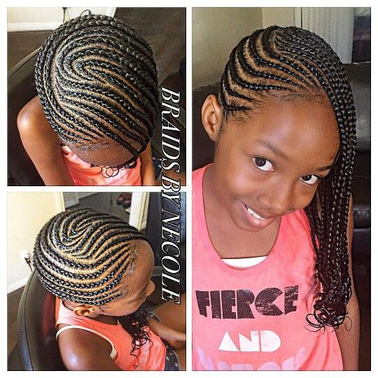 Braided Hairstyles For Kids Alluring 38 Best Braided Styles For Little Girls Images On Pinterest  Child