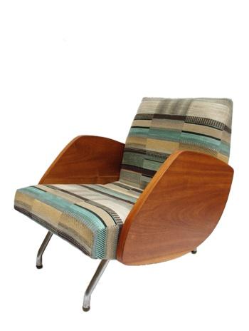 //fotel typ 360//proj.J.Różnański//lata 60//