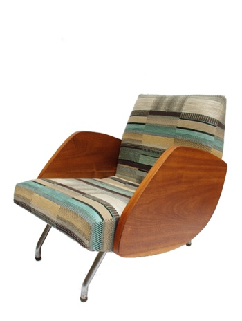 polish furniture design from 60's //fotel typ 360//proj.J.Różnański//lata 60//