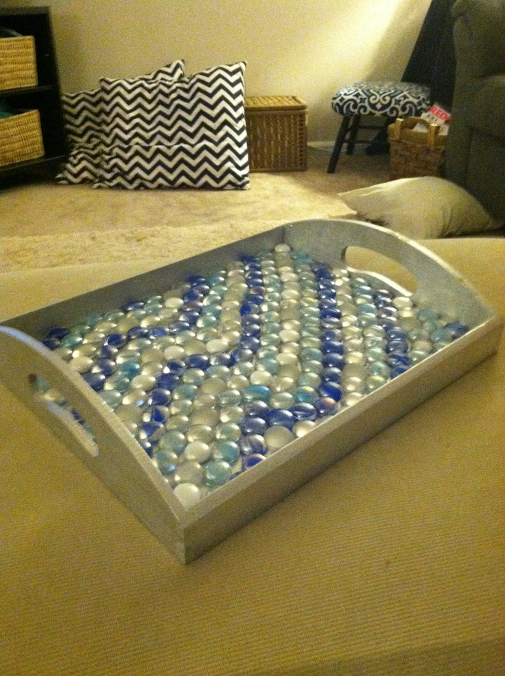 Diy Ottoman Tray For The Home Pinterest Trays Diy