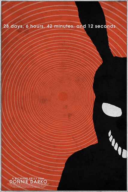 Donnie Darko (2001) ~ Minimal Movie Poster by Christian Frarey