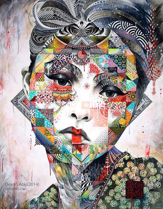 """""""Minjae Lee est un jeune artiste sud-coréen dont le travail exprime une tension de semi-dérangé intérieure qui est difficile à ignorer, même si vous vous se"""