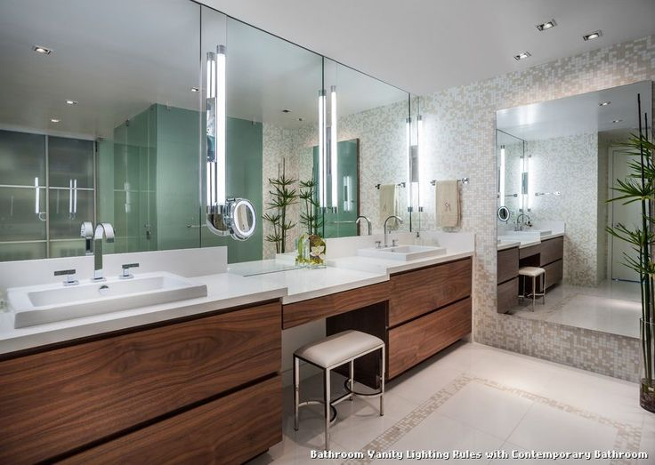 Vanity Lighting Rules : 17 Best ideas about Modern Vanity Lighting on Pinterest Master bath, Double vanity and Neutral ...