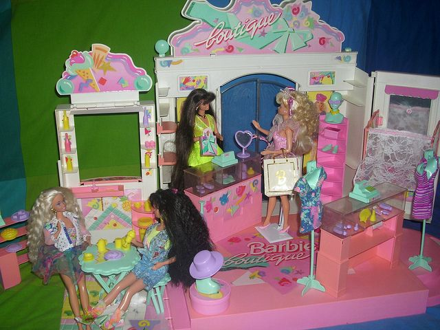 Barbie Mall Diorama | Barbie Boutique Playset   A Photo On Flickriver