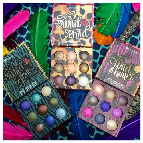 New item alert! BH Cosmetics has three new baked eye shadow palettes! Are you Wild & Free, Wild Child, or Wild at Heart?