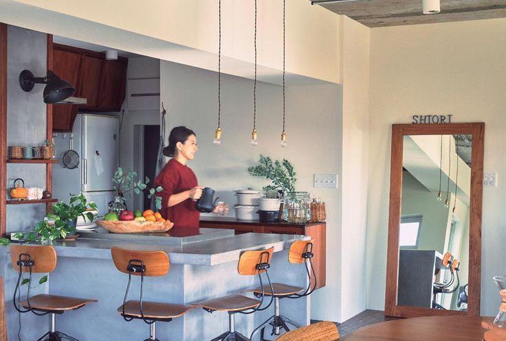 料理家・SHIORIのリノベーション「食を中心にした部屋づくり」 - itLIFE by FRaU(イットライフ バイ フラウ)