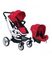 Pierre Cardin PC 416 Danielle Travel Sistem Bebek Arabası Kırmızı