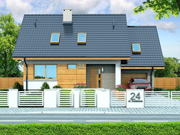 Projekt domu Lisandra XS (TXE-868) - 106.95m²