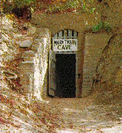 Hannibal, MO - Mark Twain cave - where Tom Sawyer once played