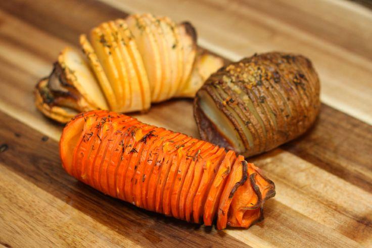 Recipe: Hasselback Potatoes, Carrots & Turnips   Bornn Creative