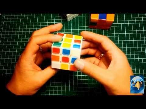 Cubo Rubik 3x3 armar la cruz blanca inicial Utilizado por Feliks Zemdegs record Guinness - YouTube