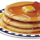Bisquick® Buttermilk Pancakes. 2 cups bisquick, 1 3/4 cups buttermilk, 1 teaspoon baking soda, 1 egg
