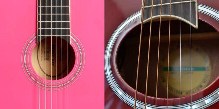 Você já deve ter reparado que violões com cordas de nylon e aço são diferentes.  Pra começar, o formato do braço é mais largo em violões com encordoamento de nylon, pois as bitolas das cordas de nylon são mais espessas que as de aço.   Entretanto, o braço do violão com encordoamento de aço é mais resistente, por esse motivo o abuso ou a falta de tensão nas cordas, pode fazer com que o braço do seu violão empene.