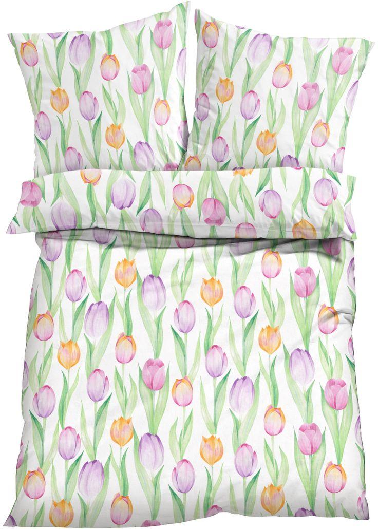 Jetzt anschauen: Potištěné povlečení s motivem tulipánů.