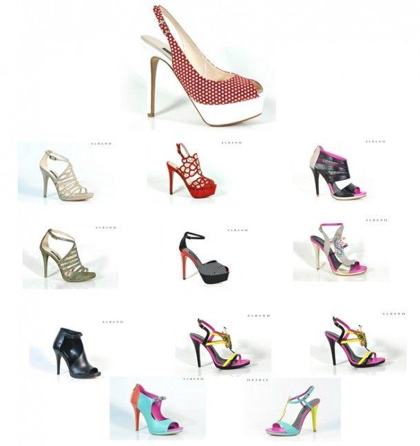 Jeweled sandals, shoes, Albano, high heels, sneakers, sandals, lurex, open-toe pump