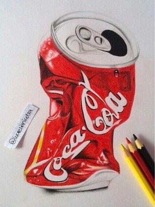 Crushed coke can xx