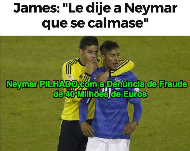 """ames: """"Le dije a Neymar que se calmase"""" ➤ http://www.marca.com/2015/06/18/futbol/copa-america/1434596731.html ②⓪①⑤ ⓪⑥ ①⑧  Neymar PILHADO com a Denúncia de Fraude de 40 Milhões de Euros ➤ http://www.publico.es/deportes/nueva-querella-bartomeu-y-neymar.html"""