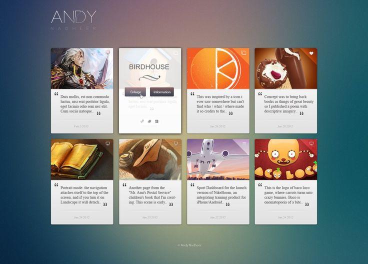 Futured Portfolio by Winnerandy on DeviantArt