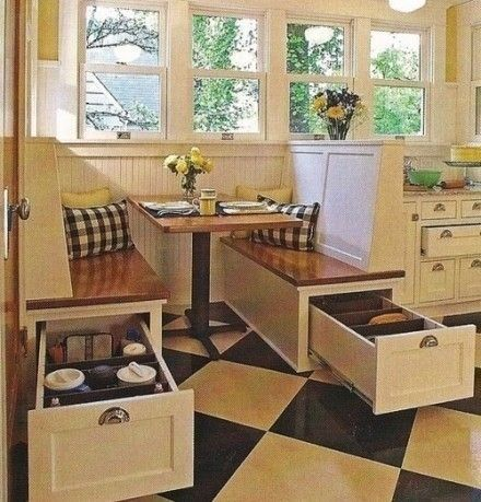 Kitchen Booth Table
