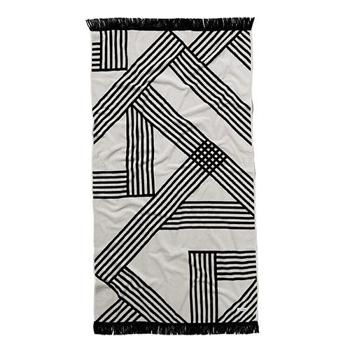 Velour Maze Beach Towel
