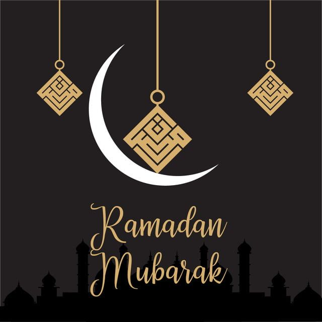 رمضان مبارك بريق أسود مع خط الخاصة بشهر رمضان العربية الخط العربي الخط العربي Png والمتجهات للتحميل مجانا Ramadan Ramadan Mubarak