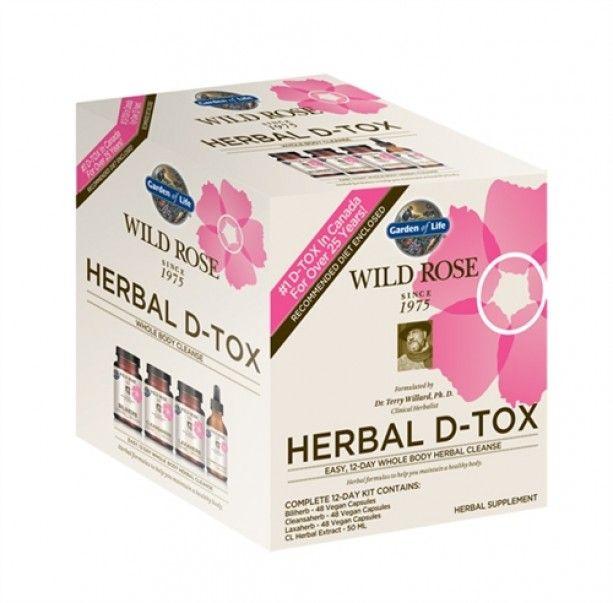 Wild Rose D-tox Recipes
