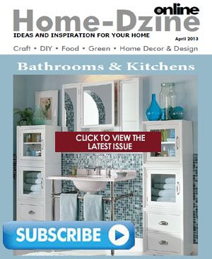 This month's free issue of Home-Dzine Online offers beautiful bathrooms, a DIY kitchen, DIY Shaker cabinet, Man Caves and more crafts and projects for you. http://www.home-dzine.co.za/Home-Dzine-Online/HDO-latest.htm