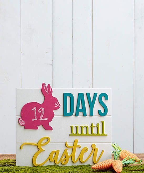 Unfinished 'Days Until Easter' Calendar