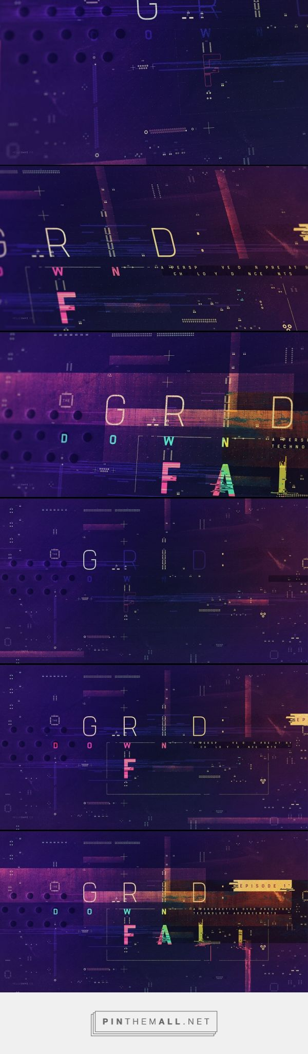 The Grid TV Opening Titles on Behance - created via https://pinthemall.net