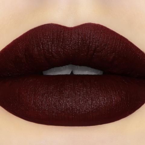 Anti-Socialite Pretty Poison Lipstick (Black Edition) By Sugarpill Cosmetics - Finally, a semi-matte blackened burgundy lipstick that's as dark and mysterious as you!