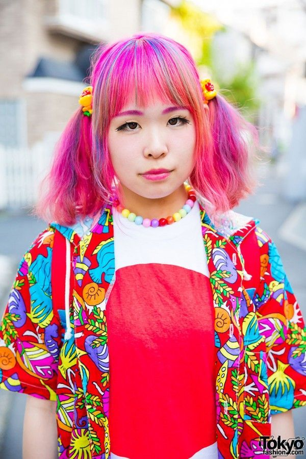 #Harajuku street2016 #japan fashion #kawaii hair&make-up