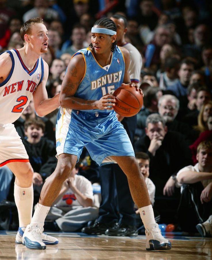 Carmelo against Keith Van Horn