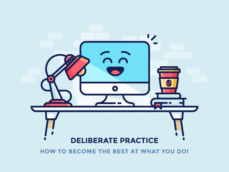 The importance of Deliberate Practice -http://iconutopia.com/key-success-deliberate-practice/