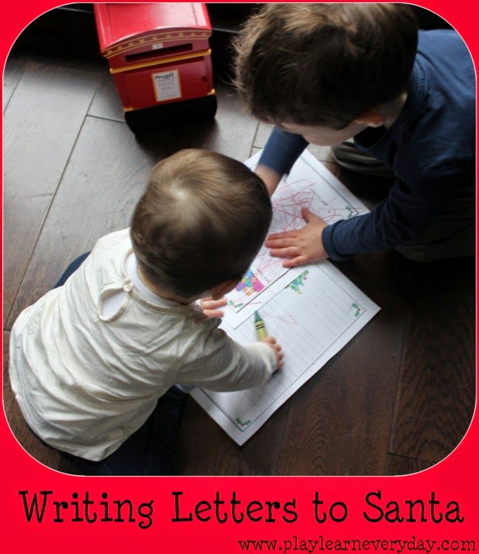 proper friendly letter format%0A Play and Learn Everyday  Writing a Letter to Santa  featuring address to  write to